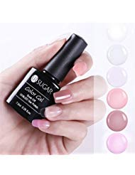 UR SUGAR 7,5ml Nail Builder Gel Kit Nagel Set Finger Nail Erweiterung Extension Trial Kit 6 Farben (Gel-nagel-kit)
