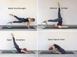 Yoga Rad für Stretching, Dharma 30,5cm Basic Prop Rad für Posen, backbends-Umweltfreundlich, bequem und robust, von Wir, die Planet
