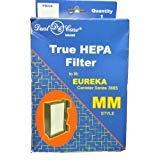 Dustcare Eureka Kanister Stil mm True HEPA Filter, Staub Care Ersatz Marke, Entworfen Um Eureka Kanister Reihe Briefkastenständer über Segelmotiv Stil mm HEPA-Filter - Eureka-ersatz-filter Staubsauger