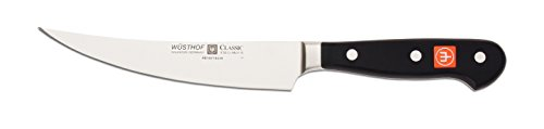 WÜSTHOF Ausbeinmesser Messer, Stahl, schwarz, 28.5 x 3.3 x 1.3 cm