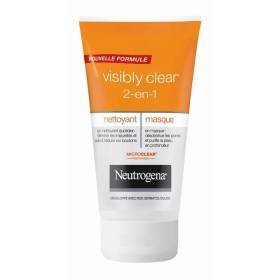 neutrogena-visibly-nettoyant-et-masque-clear-2-en-1-150ml-for-multi-item-order-extra-postage-cost-wi