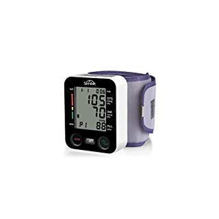 simbr Portable Wrist Digital Blood Pressure Monitor with Memory Function, 180data and Large LCD Display