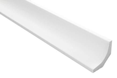 50 Meter   Styropor Stuckleisten   Decke   stabil   weiß   Zierprofil   leicht   dekorativ   XPS   35x35mm   E-11