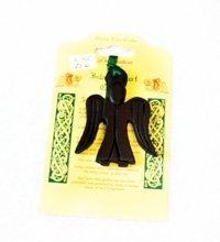 Island Turf Crafts Angelo Decorazione con verde ribbon attacco