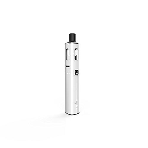 Preisvergleich Produktbild LUMEA 1500 mAh J WELL France,  Elektronische Zigarette mit Integriertem 1500 mAh Akku,  LED Batteriestandsanzeige USB-Anschluss mit Coil BTC R (Weiß)