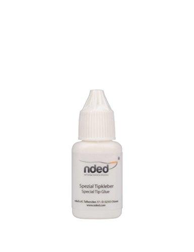 NDED Spezial Tipkleber - Profi Nagelkleber für künstliche Fingernägel, 7 5 g