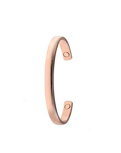 Magnet Kupfer-Armband für Arthritis, Größen M-XL, Magnettherapie-Armband, Kupfer-Armband, für Schmerzen, Sehnenscheidenentzündung, Karpaltunnel-CSL, Kupferanteil