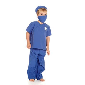 Medic or Doctor - Kids Costume 3 - 5 years (Sanitäter Kostüm Kind)