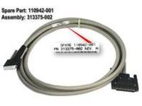 HP Compaq SP/CQ Cable vertical ofset Dienstleistung/Reparatur Cable vertical ofset SCSI 12'' - Hp Compaq-system