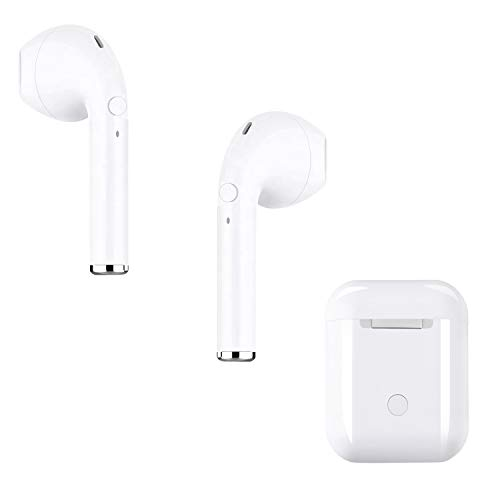 Jingircle Bluetooth Headsets Wireless Headsets 5.0 Headset Bluetooth In-Ear-Kopfhörer Wireless Stereo In-Ear-Freisprecheinrichtung für Apple Airpods Android/iPhone Apple Wireless Headset