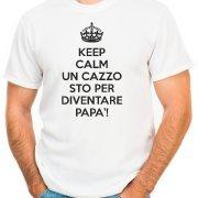 T-shirt keep calm un c… sto per diventare papà! - maglia uomo