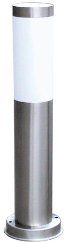 Ranex RX 1010-45 - Poste de jardín, acero inoxidable y plástico satinado