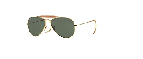 Ray Ban Outdoorsman RB3030 L0216 Arista/G-15 XLT 58mm Sunglasses