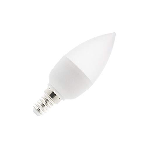 Bombilla LED E14 C37 5W Blanco Frío 6000K-6500K efectoLED