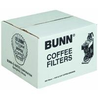 BUNN 12-Cup Commercial Coffee Filters, 250-count by Bunn