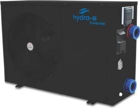 Der Durchfluss Durch Heizung (Hydro-S Wärmepumpe Stahl Typ Inverter Seitlich optional mit Bypass-Set von time4wellness (12 kW, ohne Bypass))