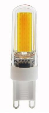 Best to buy®–Juego de 6DIMM Bar G9mini 9W cob led w a + + Blanco Cálido, 2700K, de silicona, 360° Bombilla de bajo consumo bombilla lámpara foco bombilla halógena Recambio para halógeno