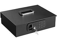 Geldkassette mit Münz-Zähleinsatz und elektronischem Schloss (Geldkasten) - 4
