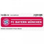 FC Bayern München Auto-Aufkleber - Sticker - Schriftzug klein