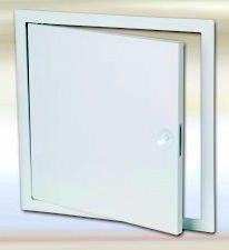 Domodul ® Revisionsklappe Revisionstür Stahl, weiß Vierkantverschluß, Einbaumaß Breite x Höhe [cm]:60 x 60
