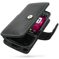 PDair Handarbeit Leder Hülle - Leather Book Case for Sprint HTC Touch Diamond (Black) Sprint Touch Diamond