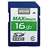 Maxell 16GB SD C10 Carte SD 16.0 GB