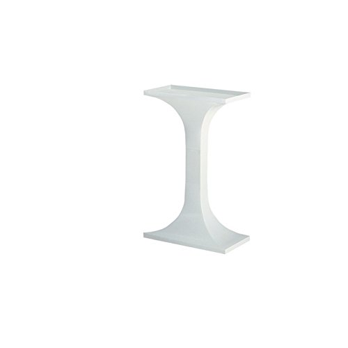 "Voltrega 60B - Soporte rectangular de pie columna para jaula de aves, 25.00 x 47.00 x 73.00 cm (9.84"" x 18.50"" x 28.74"")"