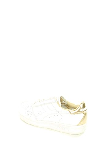 DIADORA heritage B.ELITE LIQUID sneakers donna in pelle Bianco-oro