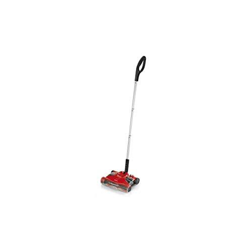 Ariete 2768 Cordless Sweeper - Scopa Elettrica senza Filo, Betteria ricaricabile, Autonomia 40\', Capacità 0,4L, Leggera e maneggevole, Rosso