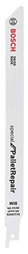 Bosch Professional Säbelsägeblatt S 722 VFR, Special für Pallet Repair, 225 mm, 0,9 mm, 5-er Pack, 2608658030 -