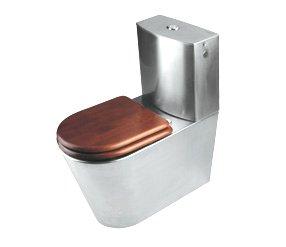 MEDICLINICS sn0110C WC mit Reservoir Edelstahl glänzend