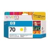 HP 70/C9454A/ TINTE GELB VIVERA 130ML, Kapazität: 130ML