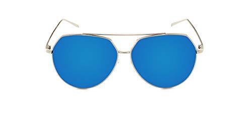 QHorse Anti-Strahlung Oversized Freizeit Brille Herren Metalllegierung Acetat-Material Top Etui&Brillentuch Outdoor UV Ultra Leicht