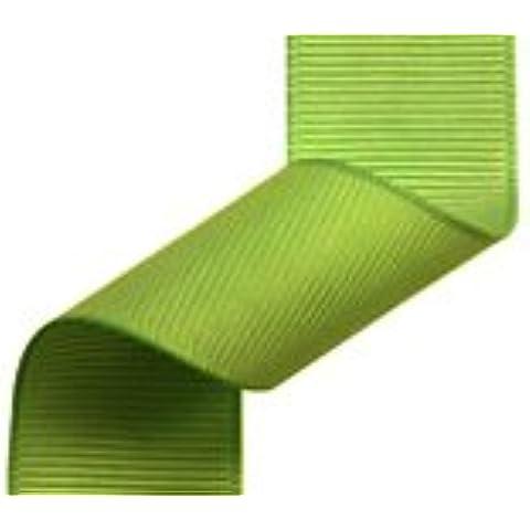 6mm nastro Grosgrain Verde Mela