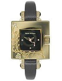 Paris Hilton Small Square PH138.4336.99 Reloj elegante para mujeres Carcasa de Oro
