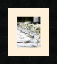 Bilderrahmen multivues Peach 1 foto(s) 10x13 Passepartout, Wand Bilderrahmen 15x18 cm Schwarz, 3 cm breit