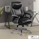La-Z-Boy Black Leather Executive Office Chair