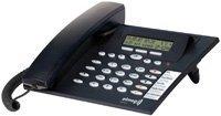 Funkwerk Elmeg IP-S290 plus DECT Schnurgebundenes Telefon schwarzblau