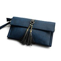 Geldbeutel neue Umschlag Paket, einfache Schulter Tasche Freizeitaktivitäten, grau Blue