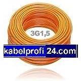 PUR Baustellenkabel H07BQ-F 3x1,5mm² -25m Ring- H07BQF