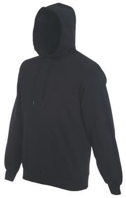Sweatshirt * Hooded Sweat * Fruit of the Loom Schwarz,L