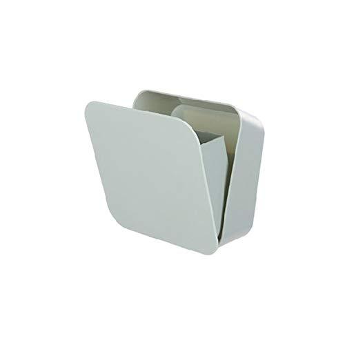 DioKlen - Wandmontage Mini-Aufbewahrungsbehälter-Halter Cosmetic Organizer abnehmbare Kunststoff Casket Make-up-Boxen Paste Art-Badezimmer-Debris Case [Grün]