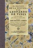 El tratado de la pintura : y los tres libros que sobre el mismo arte escribió León Bautista Alberti por Leon Battista Alberti, Leonardo Da Vinci