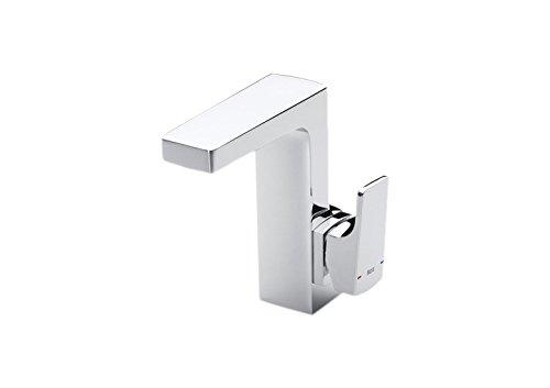 Roca A5A4001C00 – Mezclador monomando para lavabo con maneta lateral y desagüe automático, cold start