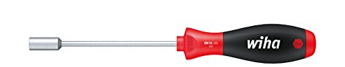 SoftFinish® Sechskant-Steckschlüssel mit Rundklinge (01026) 10 mm x 125 mm ergonomischer Griff für kraftvolles Drehen, Allrounder für Industrie und Handwerk ()