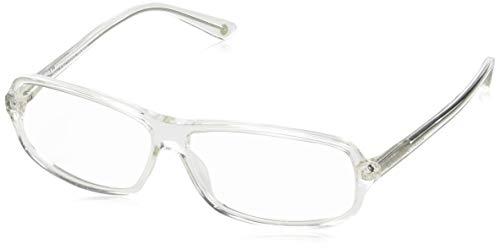 Balenciaga Unisex-Erwachsene Brillengestelle Bal 0042 900, Weiß, 43