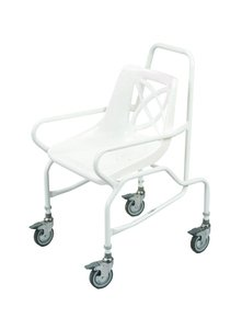 Patterson Medical Shower Chair Wheeled Fixed Height (Eligible for VAT relief in the UK)