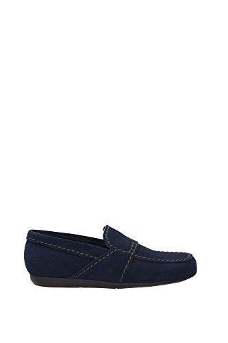 Wildleder Herren Prada Blau 2dg059oltremare Loafers p4qwnxTtTF