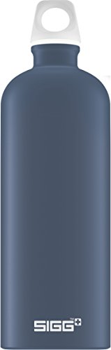 Sigg lucid midnight, borraccia d'acqua unisex-adulto, blu, 1.0 l