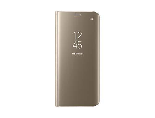 Samsung EF-ZG950CFEGWW Clear View Schutzhülle für Galaxy S8 Gold Gold Handy Cover